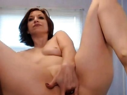 12 Inch Dildo all in her Ass + Ripple