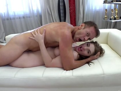 Fuckers love sensible be required of moans when they have threesome round skinny